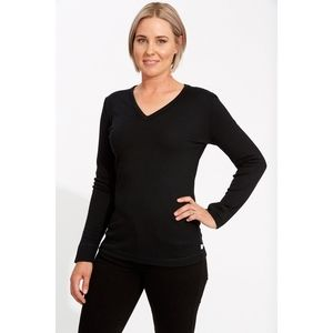J. CREW Black Merino Wool V Neck Sweater XS